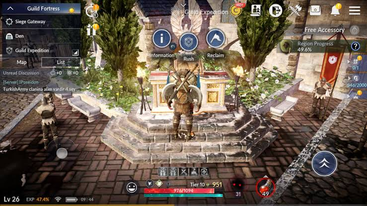 Tips Dasar Bermain Black Desert Mobile Guild