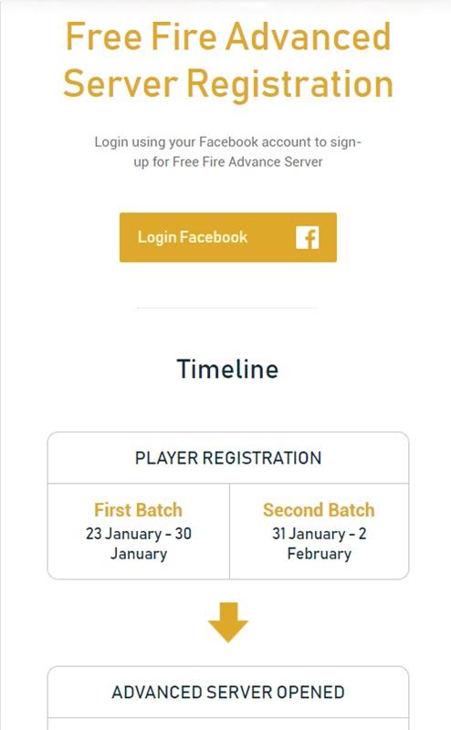 Begini Cara Download Dan Masuk Advance Server Free Fire Dengan Mudah (Update 2020) Daftar