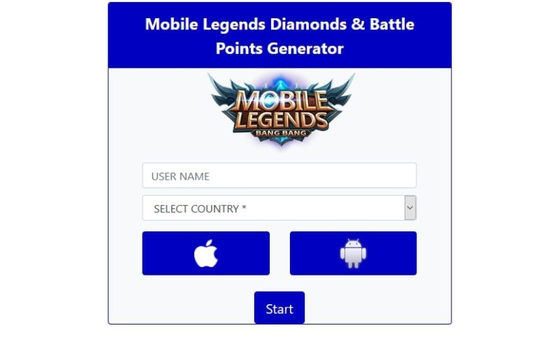 6 Generator Diamond Mobile Legends Gratis Terbaik Auto Sultan 4