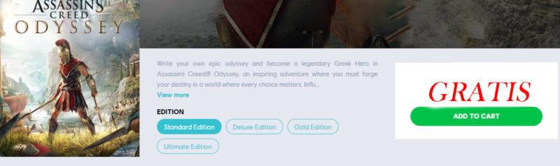 Assassins Creed Odyssey FREE