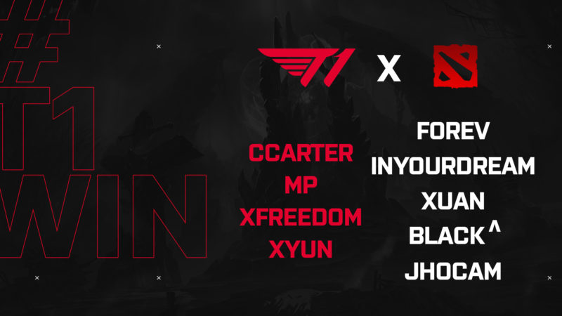 T1 Roster