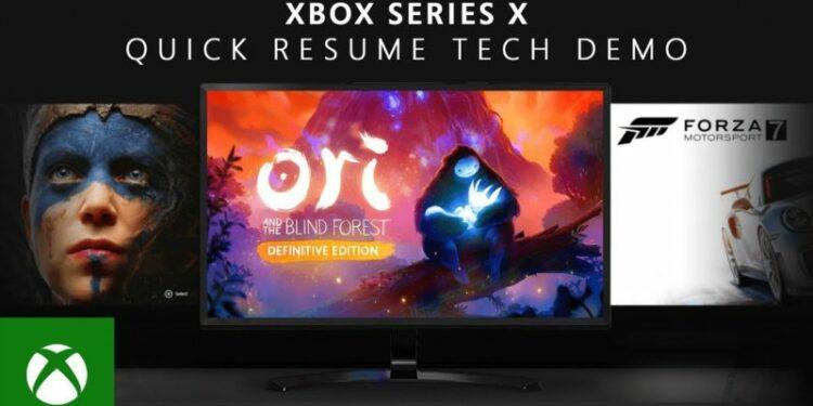Xbox Series X Mampu Menjalankan 3 Sampai 5 Game Sekaligus! Gamedaim