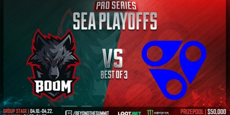 Boom Esports Vs Reality Rift Bts Pro Series Sea