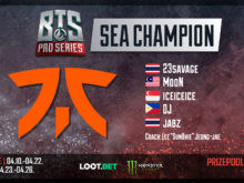 Fnatic Winner Bts Pro Series Sea
