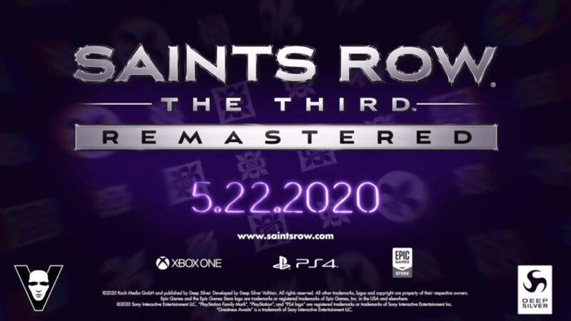 Saints Row The Third Remastered Dapatkan Tanggal Rilis