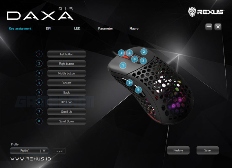 Software Key Daxa Air Gamedaim Review