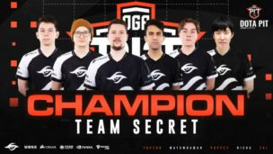 Team Secret Oga Dota Pit 2020