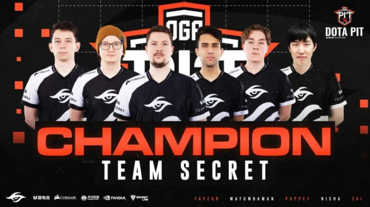 Team Secret Oga Dota Pit 2020