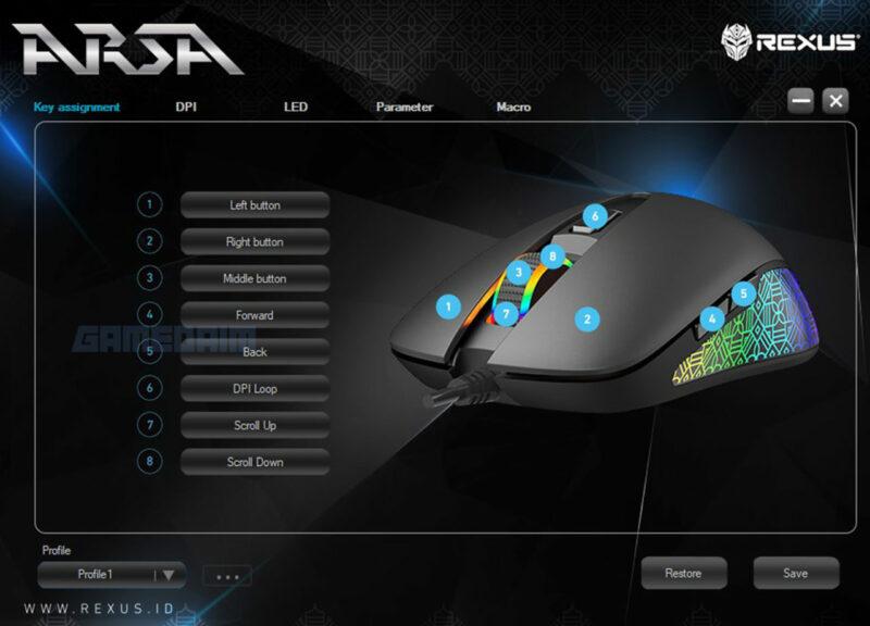 Rexus Arsa Software Key Gamedaim Review