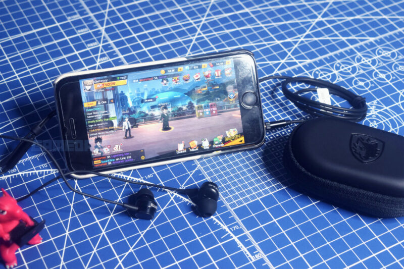 Sades Wings 10 Earphone With Smartphone Gamedaim Review