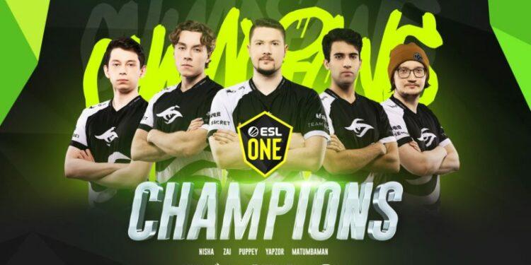 Secret Champion Esl One Birmingham