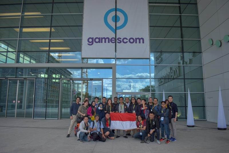 Keikutsertaan Indonesia Dalam Gamescom 2019 Tahun Lalu