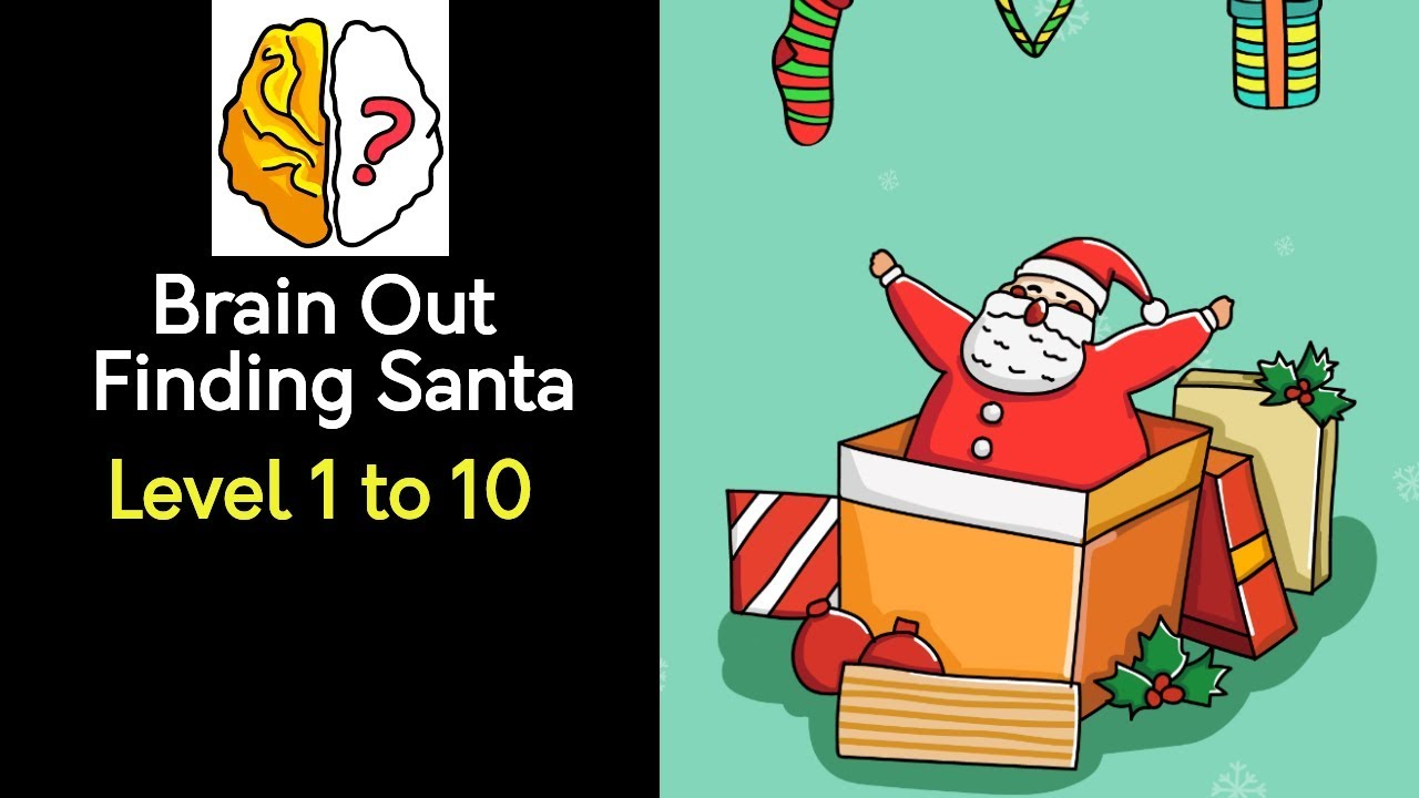 Kunci Jawaban Brain Out Finding Santa Dari Level 1 10 Indonesia