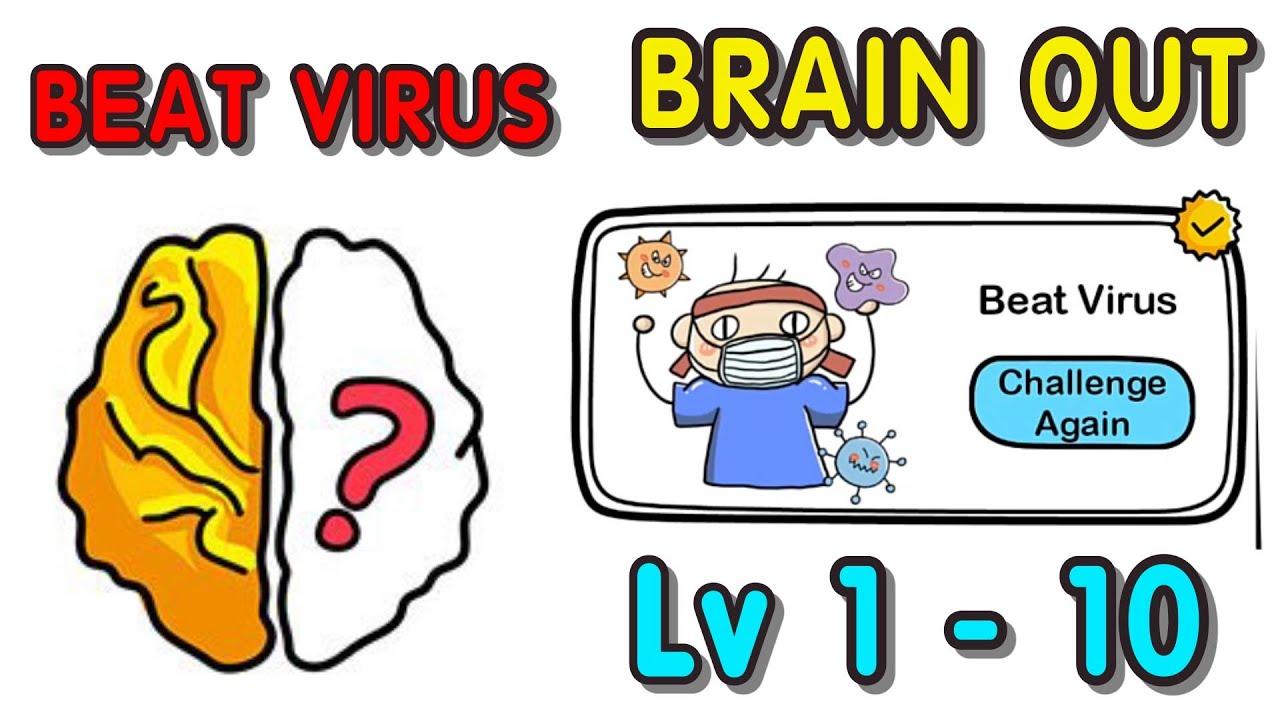 Kunci Jawaban Brain Out Kalahkan Virus Dari Level 1 10 Gamedaim
