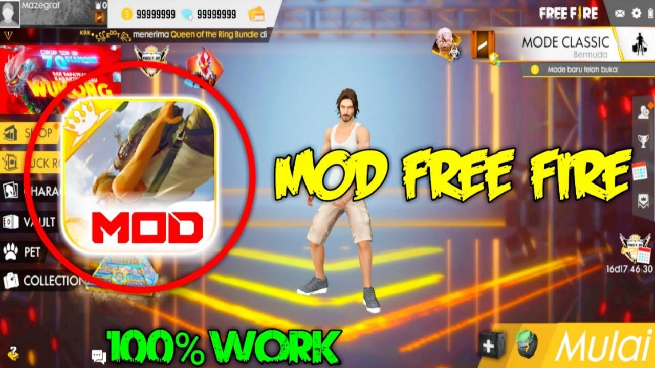 Mod Free Fire (ff) 2020 Cara Download Dan Fitur Terbaru! Gamedaim