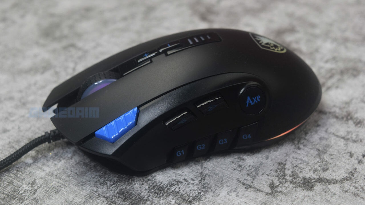 Sades Axe Mouse 2 Gamedaim Review