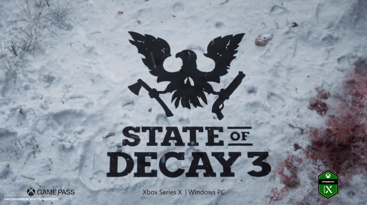 State Of Decay 3 Announcement and Grounded