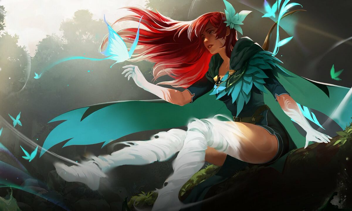 Windranger Arcana The International 10
