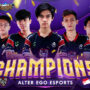 Alter Ego Juara NMA Mobile Legends