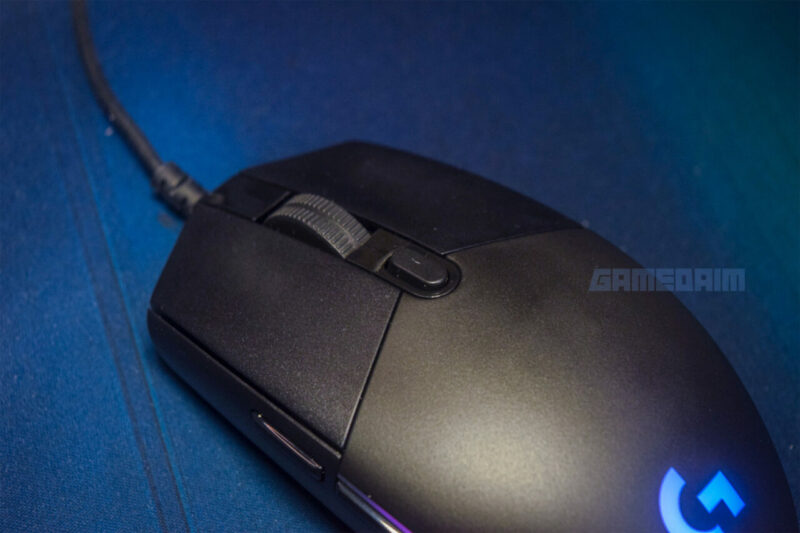 Logitech G102 Lightsync Dpi Scroll Button