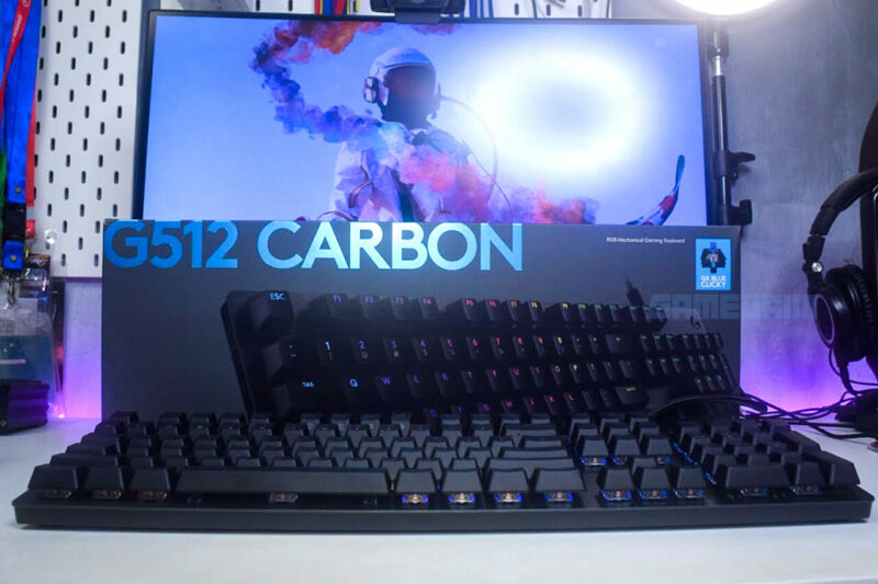 Logitech G512 Carbon Box by Gamedaim Review