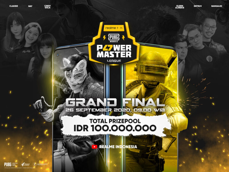 Grand Final Realme Pubg Power Master League