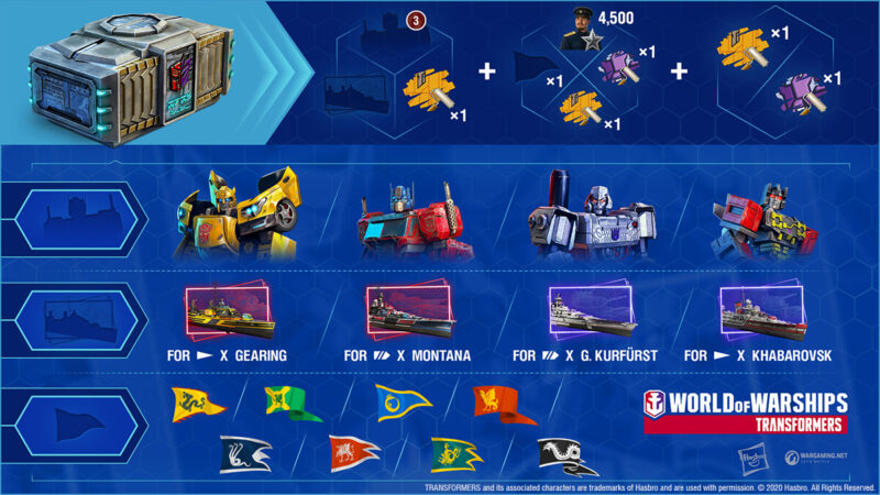 Misi Transformers World Of Warships