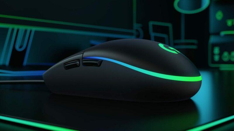 Set Gaming Logitech G102 Lightsync