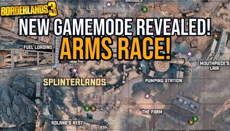 Arm Race Map | Moxsy