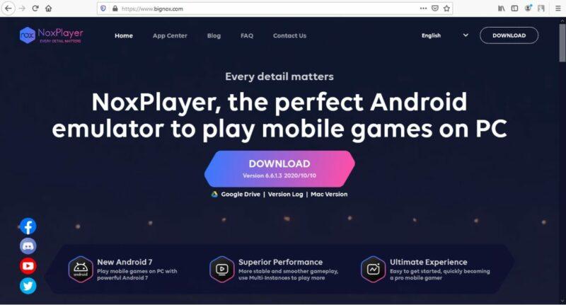 Nox Emulator | Gamedaim