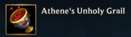 Athenes Unholy Grail