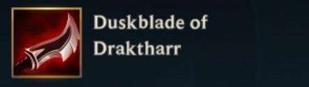 Duskblade Of Draktharr