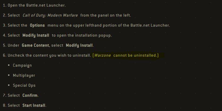 Gamer Pc Tetap Tidak Akan Bisa Menghapus Warzone Dari Call Of Duty Modern Warfare