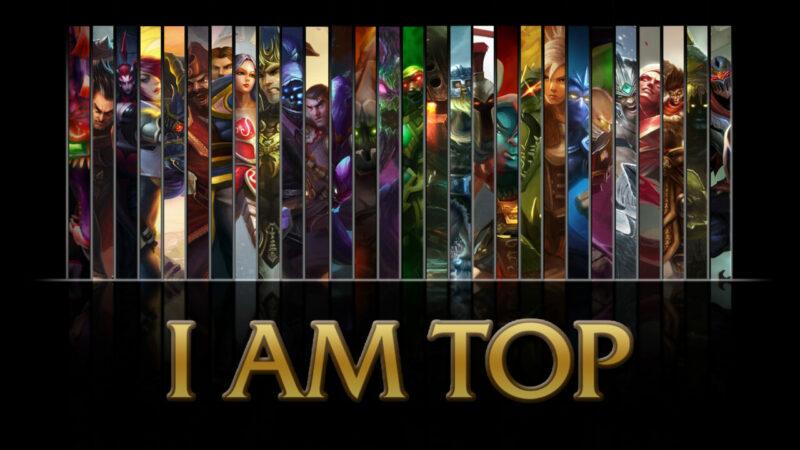 Top Laner Kebanyakan adalah Fighter Role | HipWallpaper