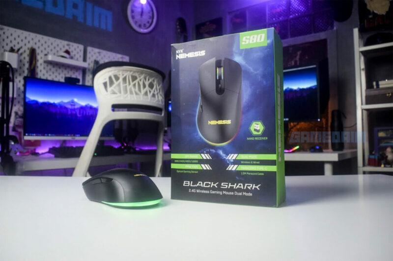 Nyk Nemesis S80 Blackshark Box Gamedaim Review