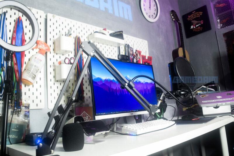Sades Orpheus Desktop Mic Arm Gamedaim Review