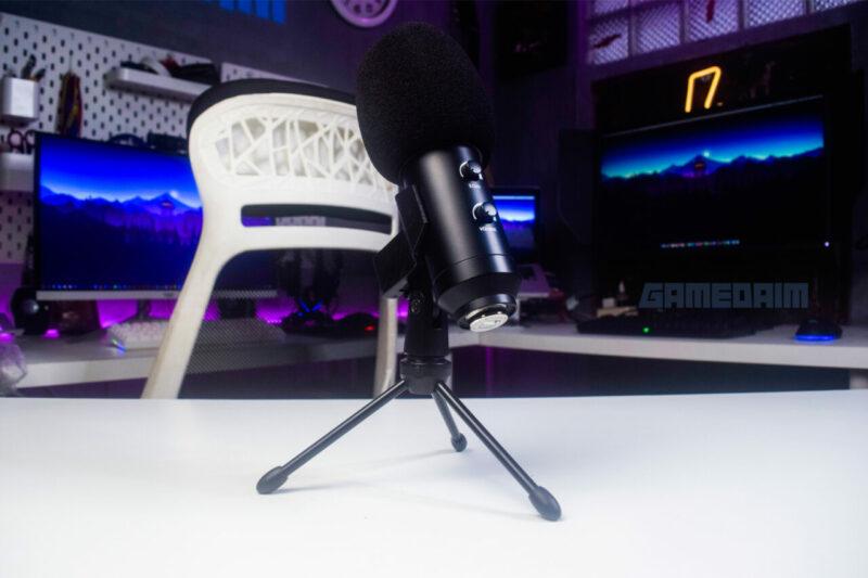 Sades Orpheus Microphone Tripod Stand Frog Eye Gamedaim Review