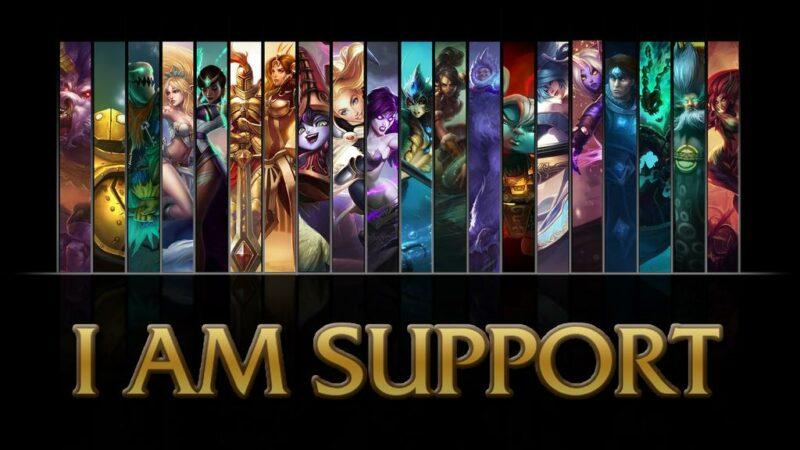 League Of Legends Support Role | Nibblesmekibbles