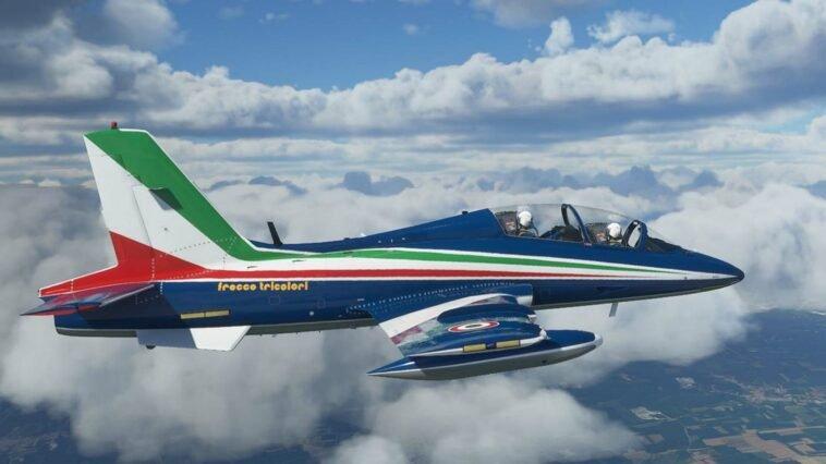 Aermacchi MB-339 Pesawat Tempur Pertama Microsoft Flight Simulator   Microsoft