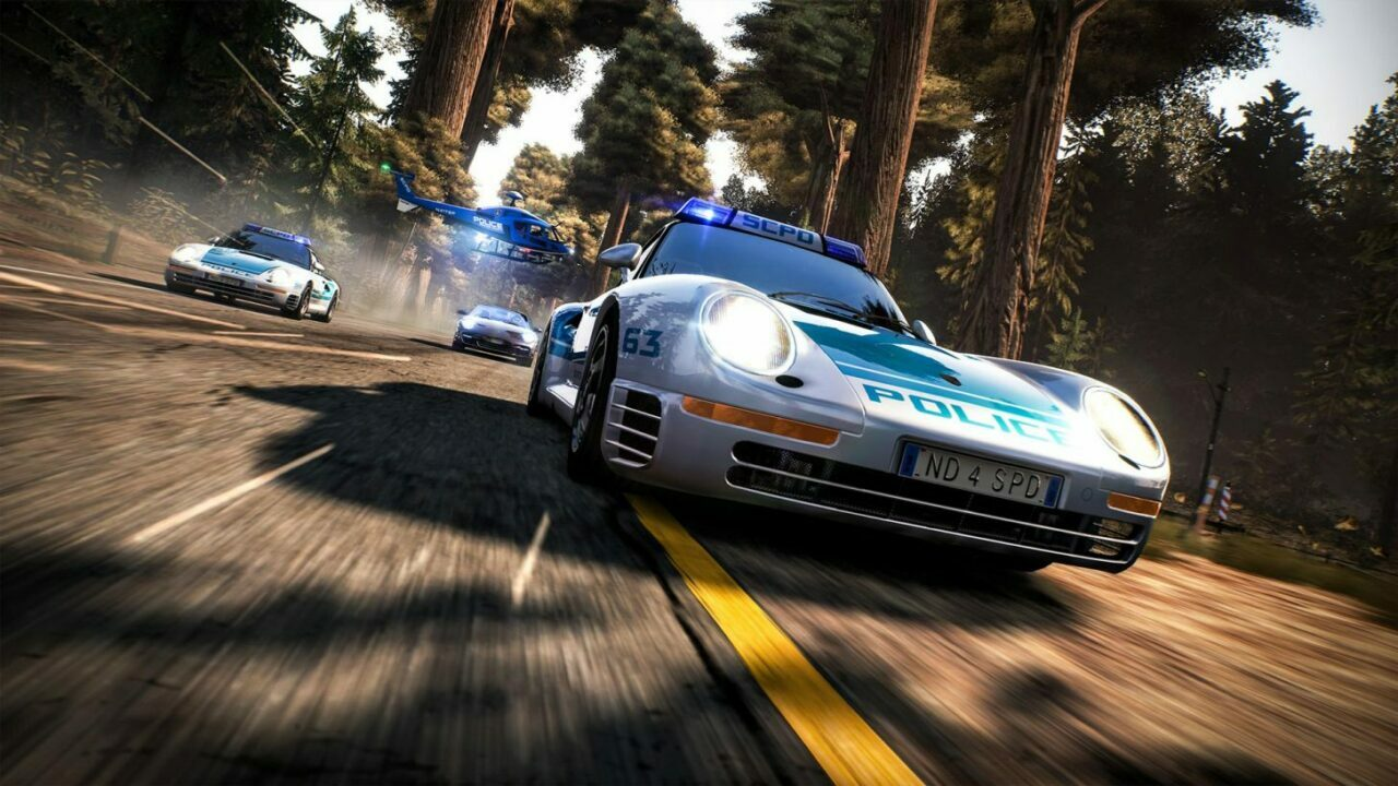 Need For Speed: HP Reamastered Reveal Screenshot