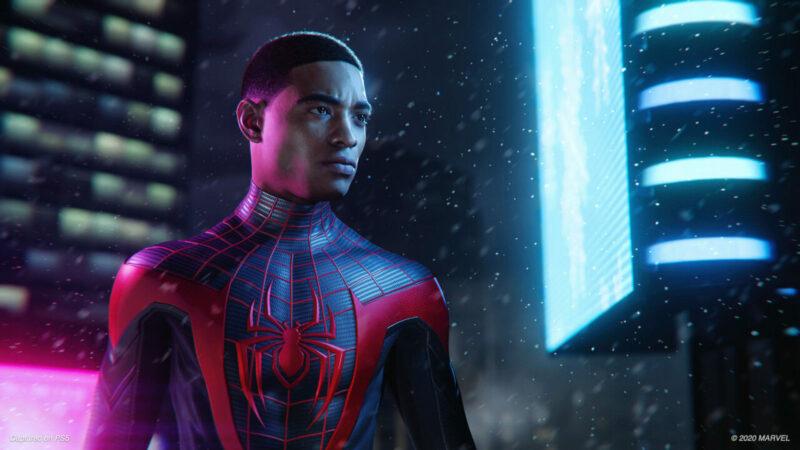 Miles Morales Murid dari Peter Parker   Playstation
