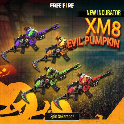 Xm8 Evil Pumpkin