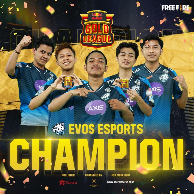 evos esports red bull gold league
