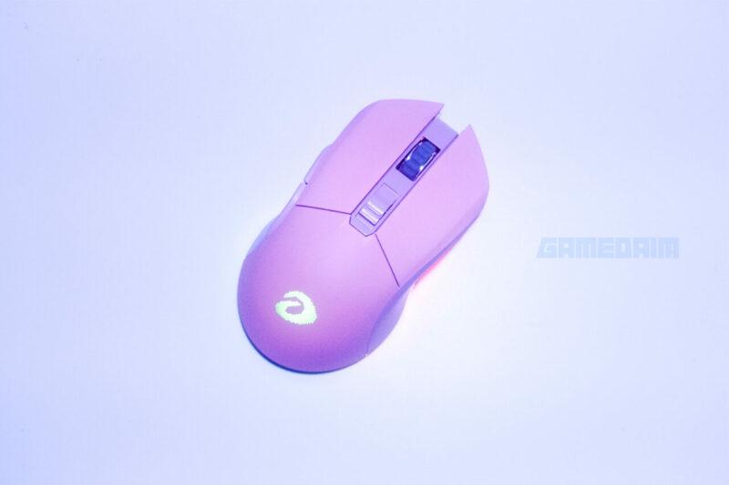 Dareu Em901 Mouse Top View Gamedaim Review