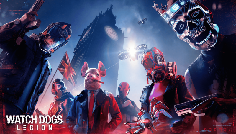 Perilisan Mode Multiplayer Watch Dogs Legion Ditunda Ke 2021