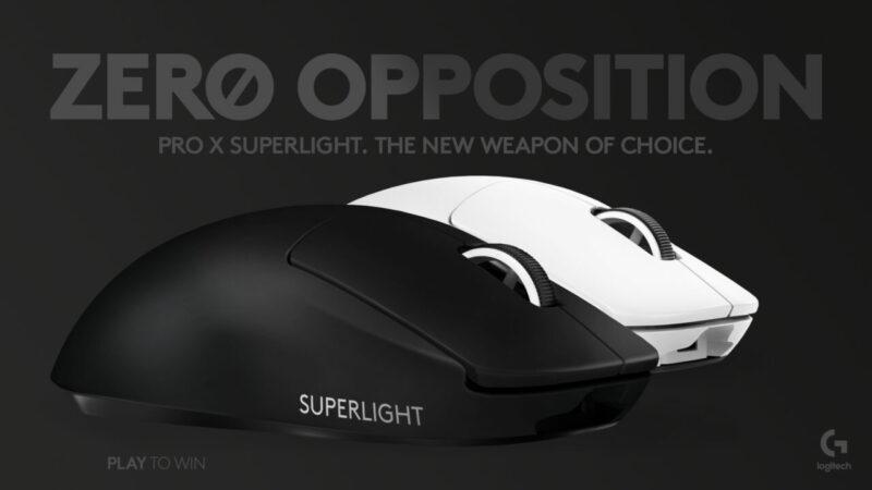 Pro X Superlight Black & White