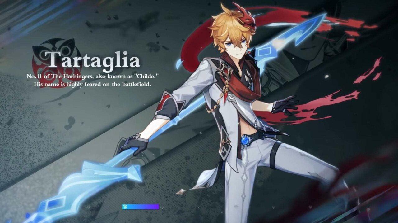 Build Tartaglia Terbaik Genshin Impact - Gamedaim.com