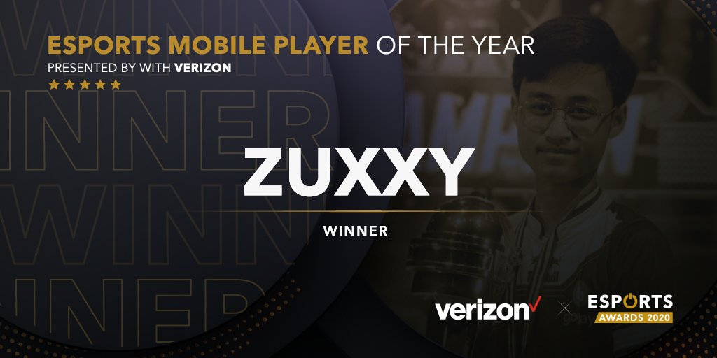 Zuxxy Esports Mobile Player Of The Year