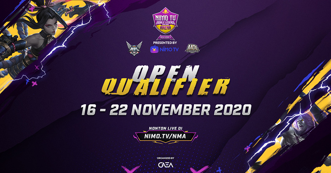 NMA Season 2 Open Qualifier