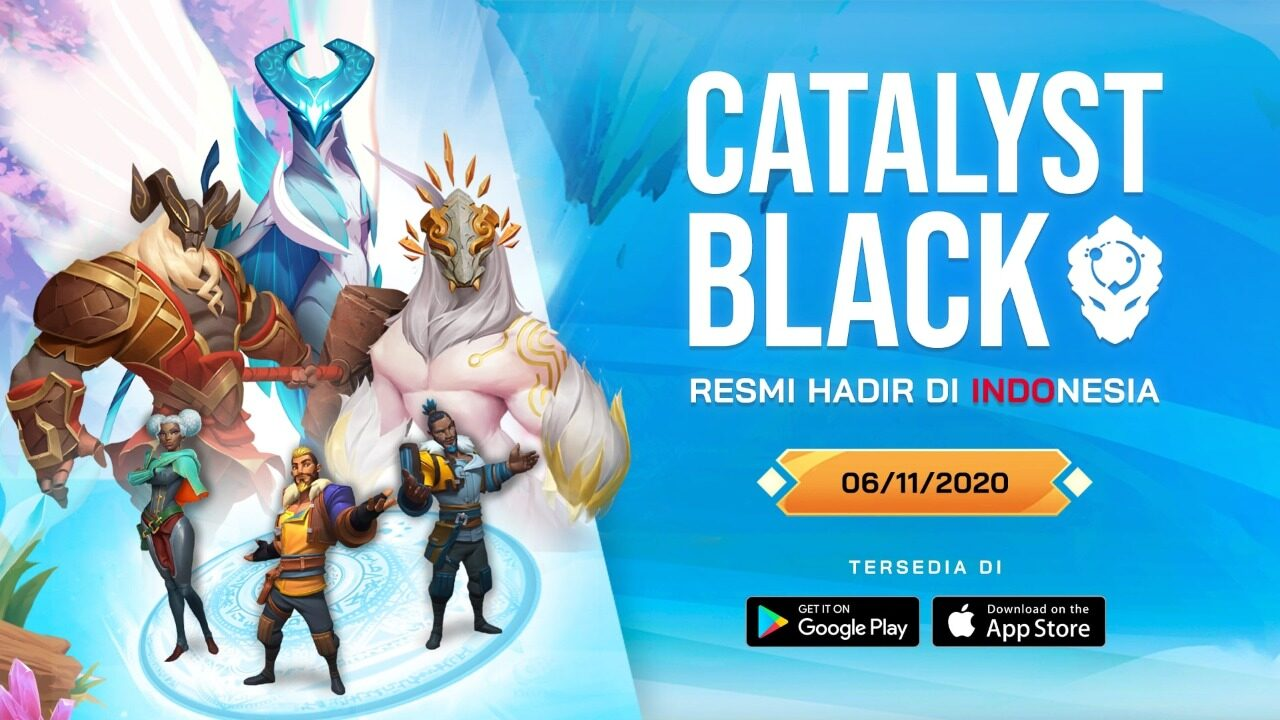 Catalyst Black Beta Indonesia
